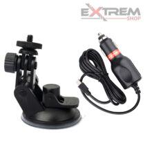 Autós szett - mini USB (Tartó + töltő)