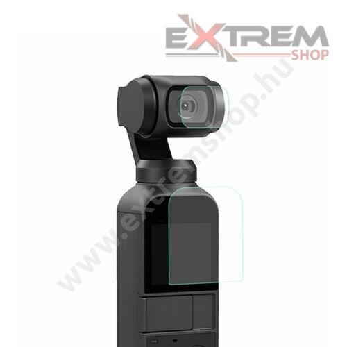 DJI Osmo Pocket védőfólia (kijelző + lencse)
